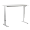 Float height adjustable table tall