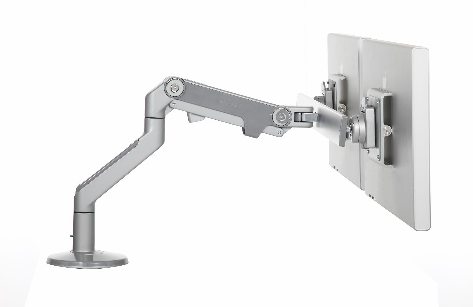 M8 With Crossbar Adjustable Monitor Arm From Humanscale